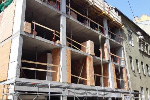 Ütemtervnek megfelelően halad a Dominika Ház építkezése!